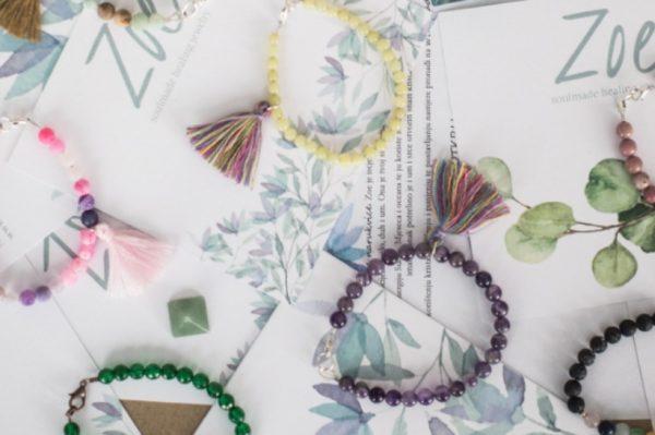 Zoe narukvice od kristala donose mir te opuštaju um i tijelo