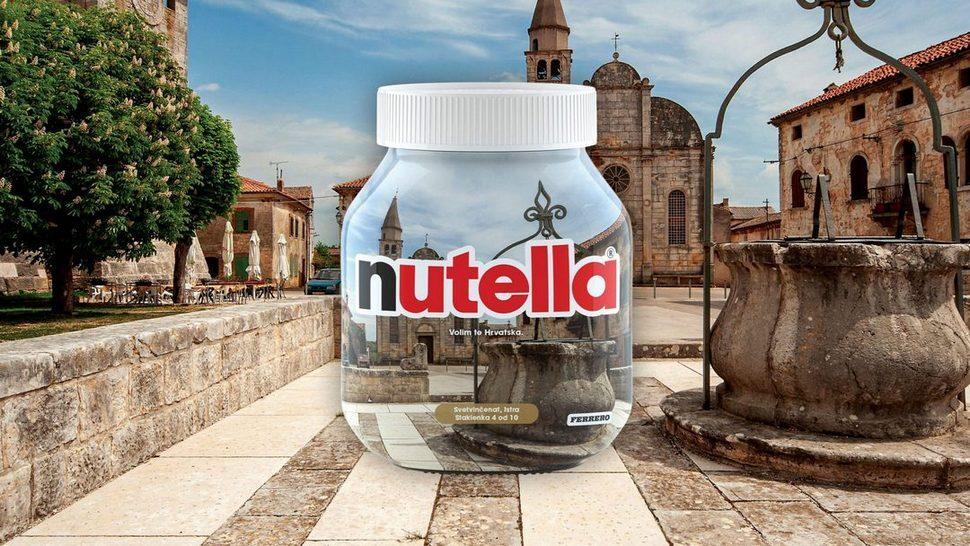 Limitirana kolekcija Nutella teglica s prirodnim ljepotama Hrvatske