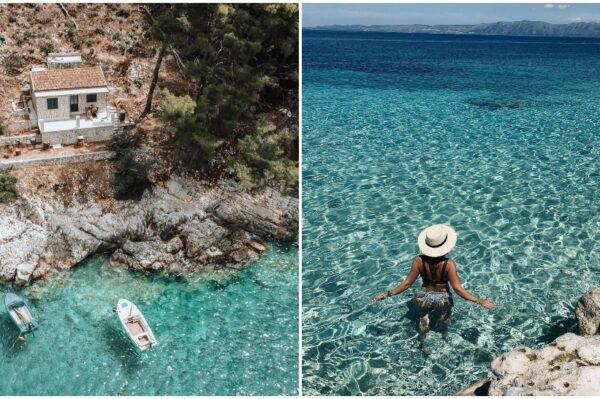 Čarobna mjesta za kupanje na otoku Korčuli