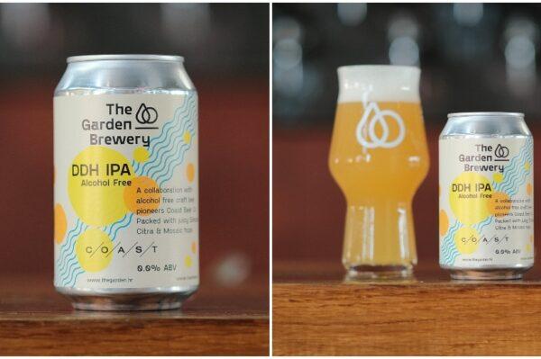 The Garden Brewary predstavlja svoje prvo bezalkoholno pivo