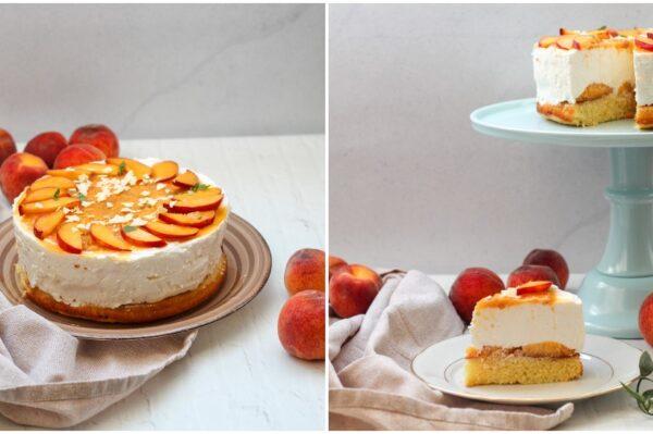 Tonkina kužina: Osvježavajuća torta od breskve idealna za ljetne dane