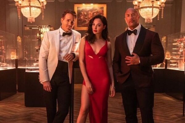 'Red Notice' bit će spektakularan kao i njegova glumačka ekipa