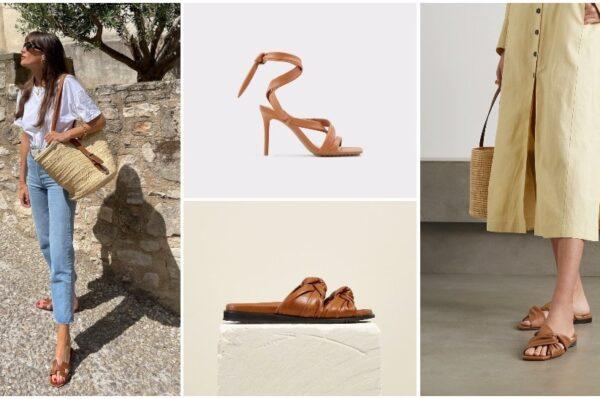 Smeđe natikače i sandale u 43 modela za svaki ljetni look