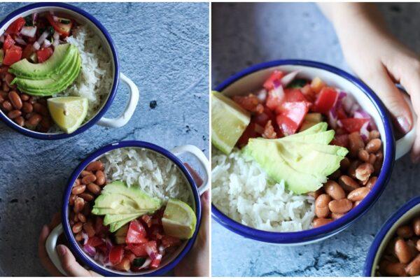Culinary Postcards: Burrito zdjela s povrćem za lagani ljetni ručak