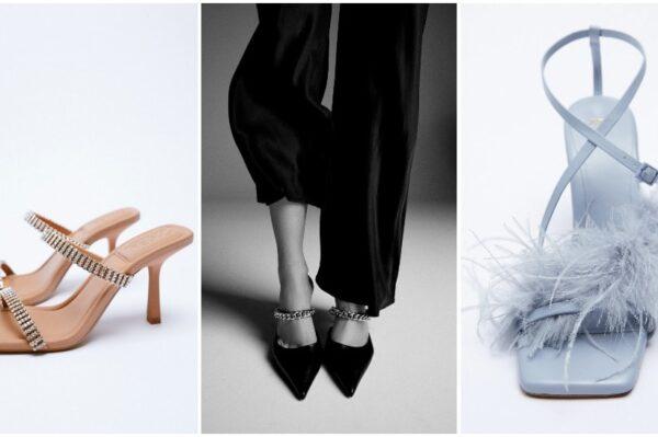 Zara ima odličnu kolekciju cipela koja je idealna za sve svečane prigode