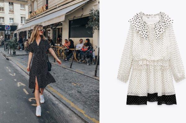 Zara ima divne nove točkaste haljine u kojima ćemo dočekati jesen