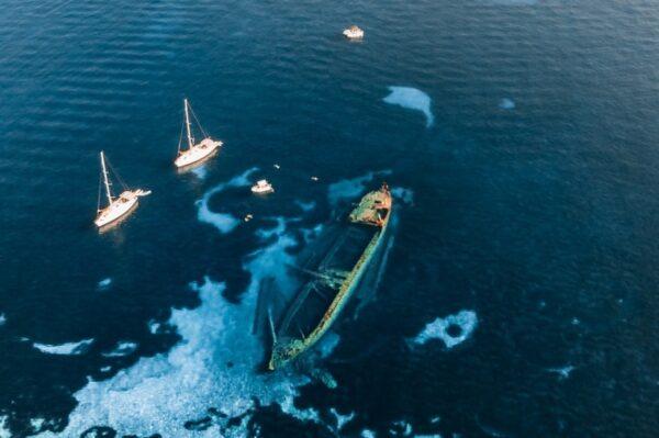 Olupina broda Michelle na Dugom otoku prava je atrakcija za sve avanturiste