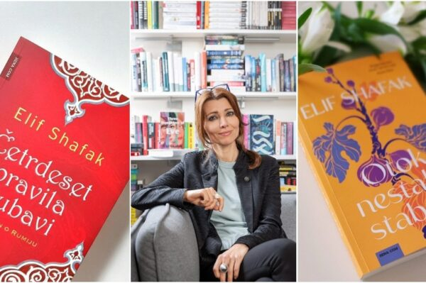 Putovati (s) knjigama:  Iva Biondić s tursko – britanskom spisateljicom, ženom naopakih korijena Elif Shafak