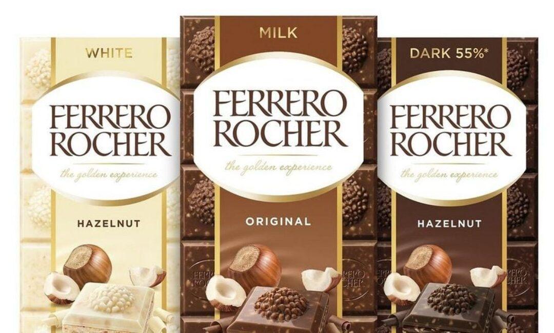 Slatka vijest dana: U Hrvatsku su stigle Ferrero Rocher čokoladne table