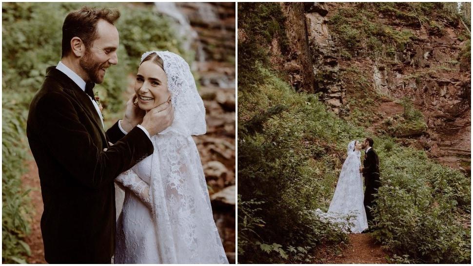Glumica Lily Collins se udala u bajkovitoj vjenčanici