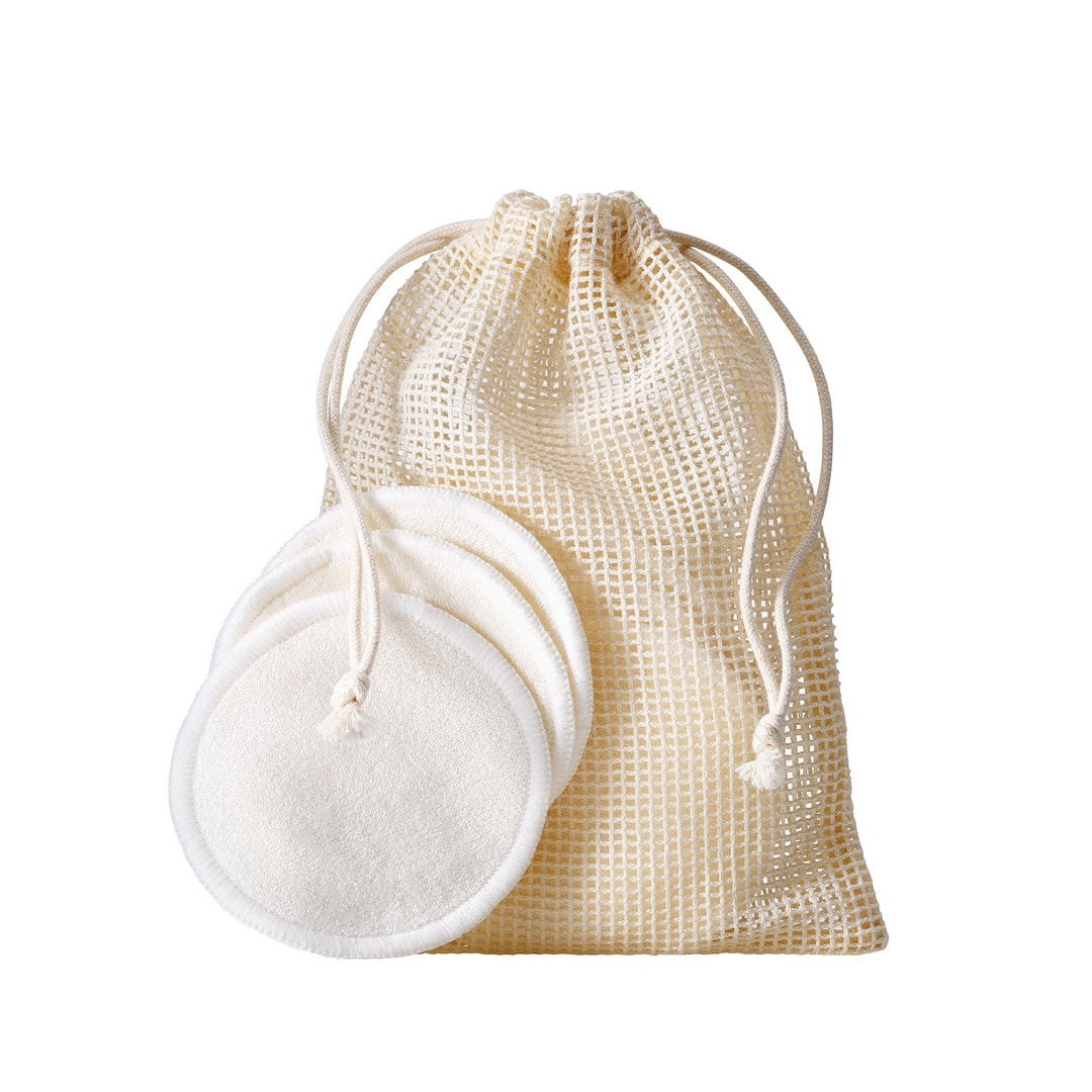 Rose Inc Reusable Cosmetic Rounds Made With Organic Bamboo Cotton