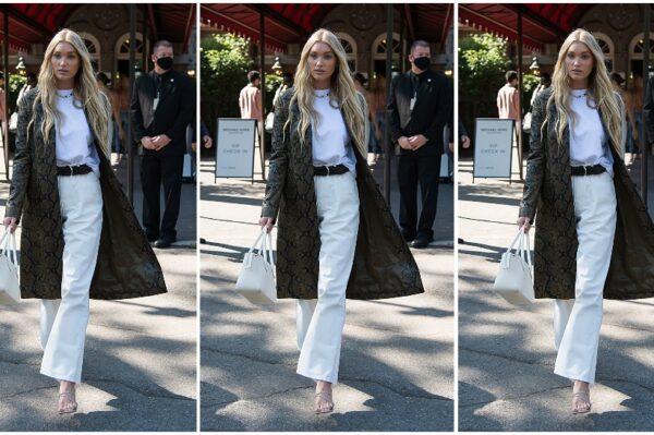 Street style inspiracija: Elsa Hosk odlično nosi bijelu u jesenskom izdanju