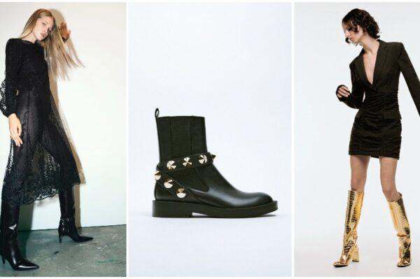 Top modeli Zara čizama koje će se nositi cijele zime