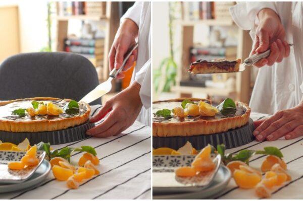 Tonkina kužina: Čokoladni tart s mandarinama za slađi ponedjeljak
