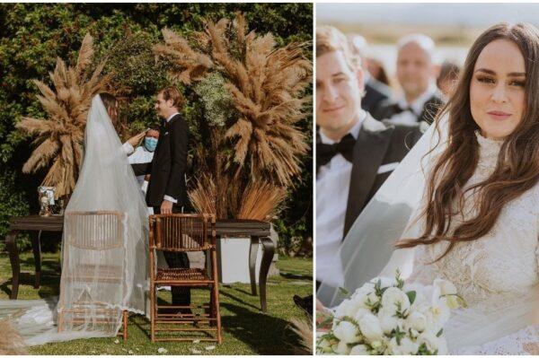 Romantična vjenčanica od čipke za vjenčanje jedne od prvih modnih blogerica
