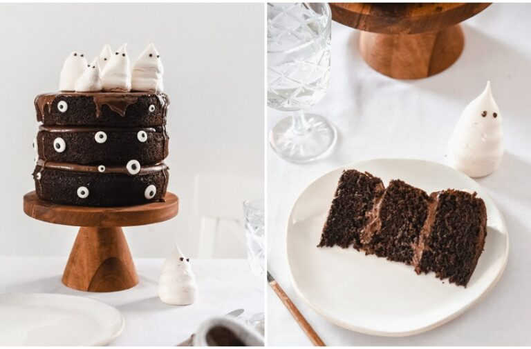 Bake me by Nina: Death by chocolate torta u Halloween izdanju