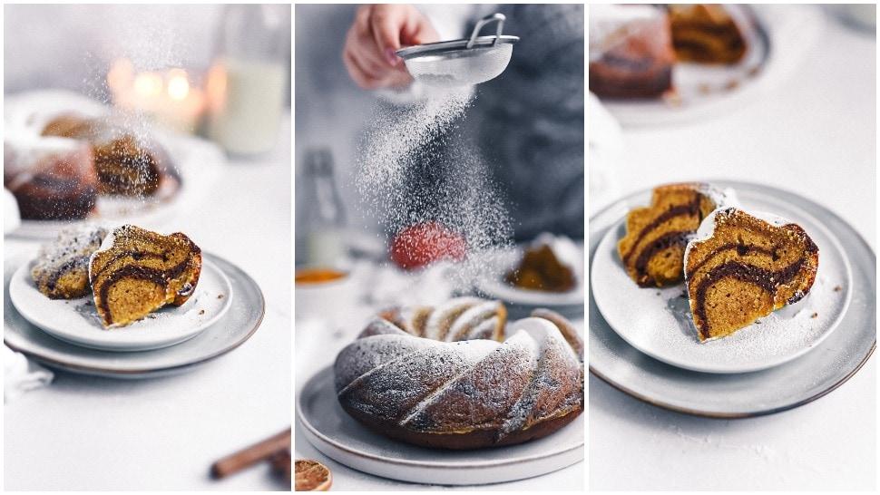 YumYum Paradise: Sočni kuglof od bundeve, čokolade i mandarina
