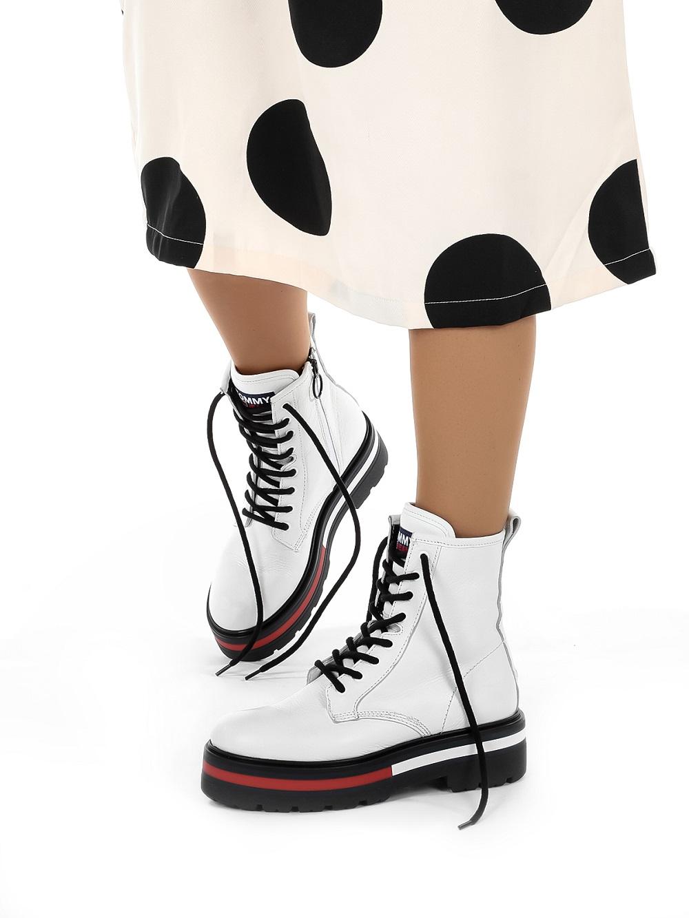 Tommy Hilfiger bijele čizme Mass jesen zima 2020. 2021. 1