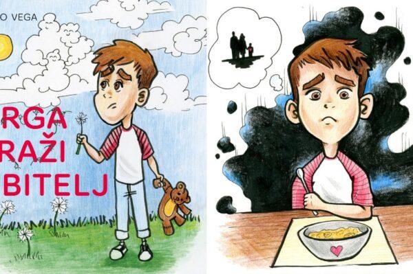 """Slikovnica """"Grga traži obitelj"""" donosi emotivnu priču o odrastanju u dječjim domovima"""