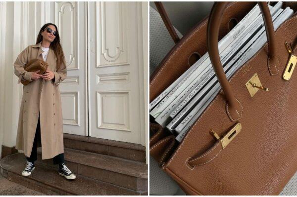 Smeđa torba u 30 najljepših modela za svaki jesenski ormar i look