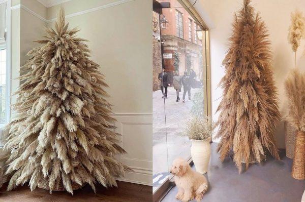 Ove godine pampas bor je apsolutni hit u blagdanskom uređenju doma