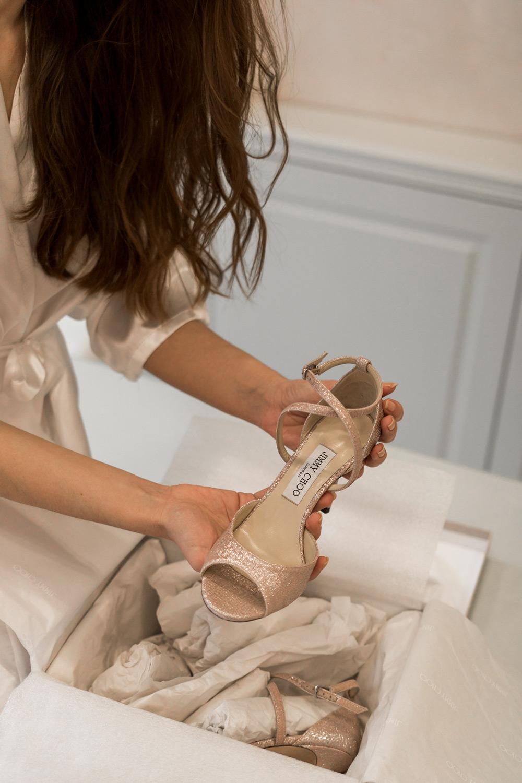 I Do weddings Jimmy Choo vjenčane cipele